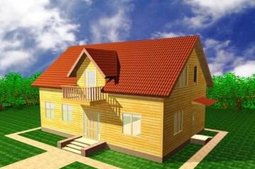 дом двухэтажный