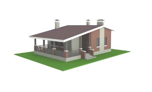 макет дома 1