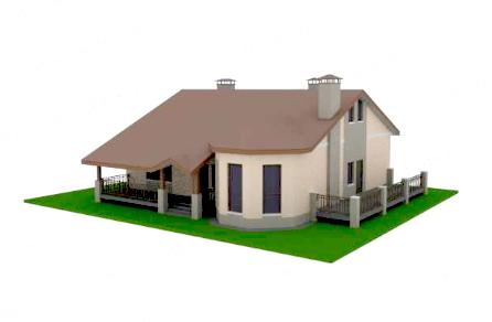 макет дома 3