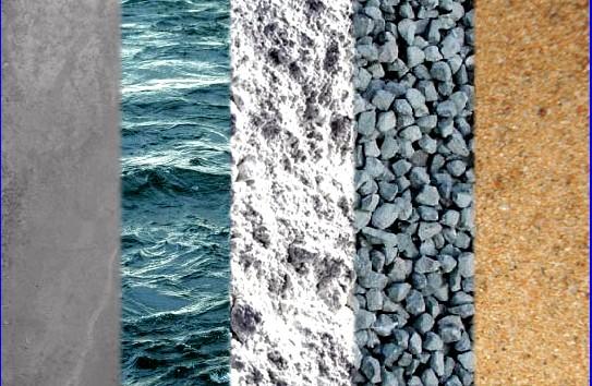 Составляющие бетонной смеси