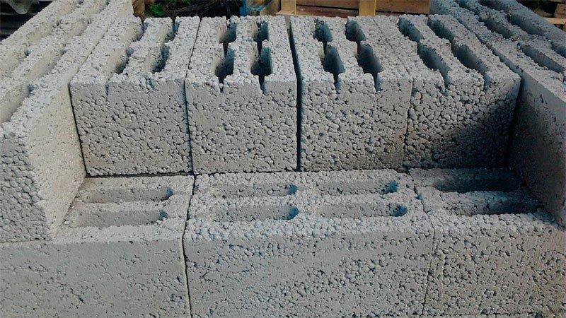 Так выглядит керамзитобетонный блок