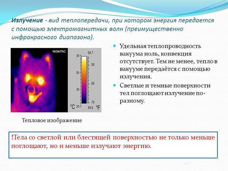 Что такое тепловое излучение