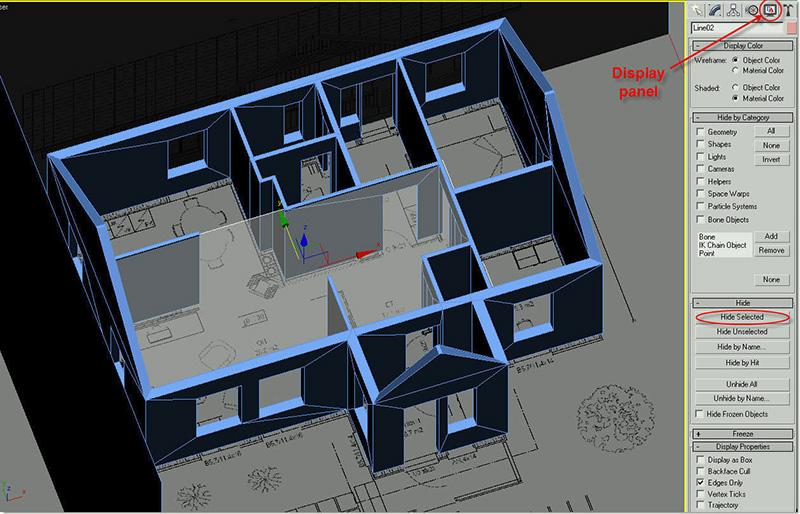 Электронный 3-D проект кирпичного дома