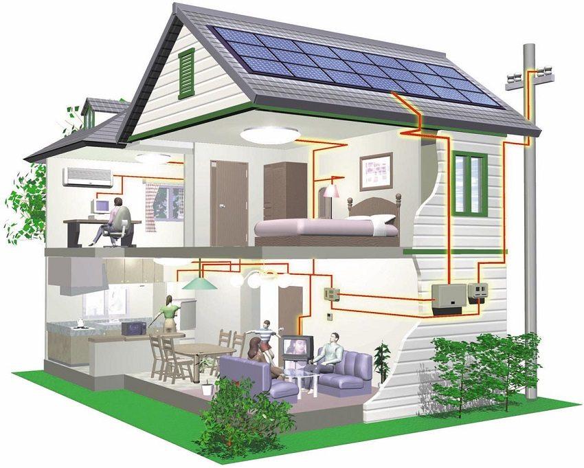 Делаем электропроводку в деревянном доме своими руками