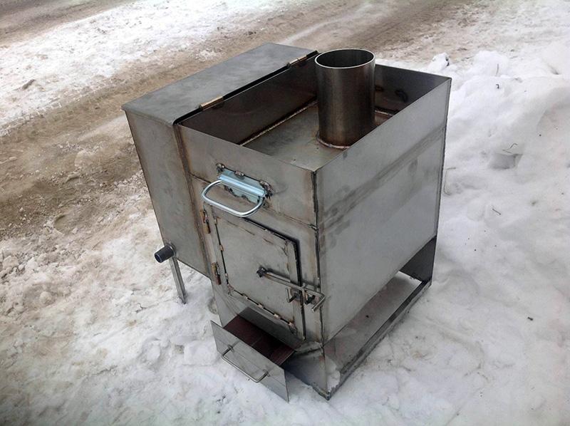 Печь из листового металла