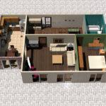 3-D проект дома