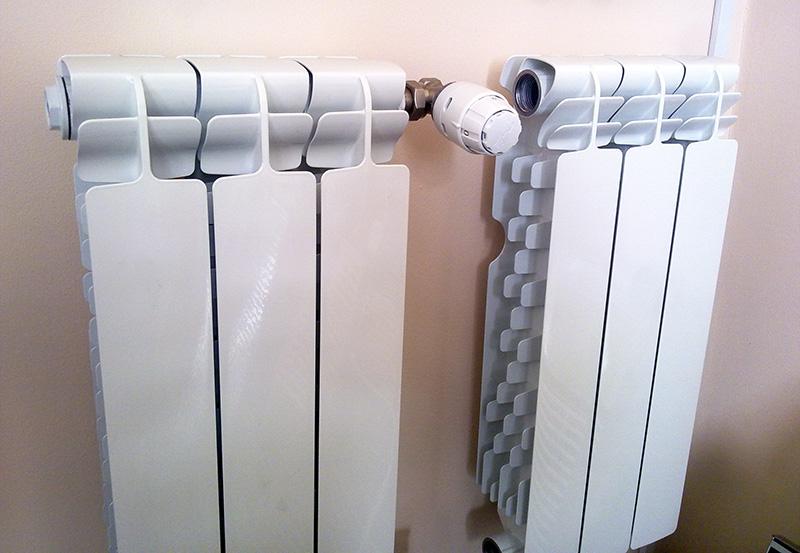 Алюминиевый наборной радиатор