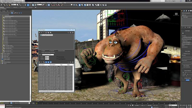 Анимация в программе Autodesk 3-D MAX