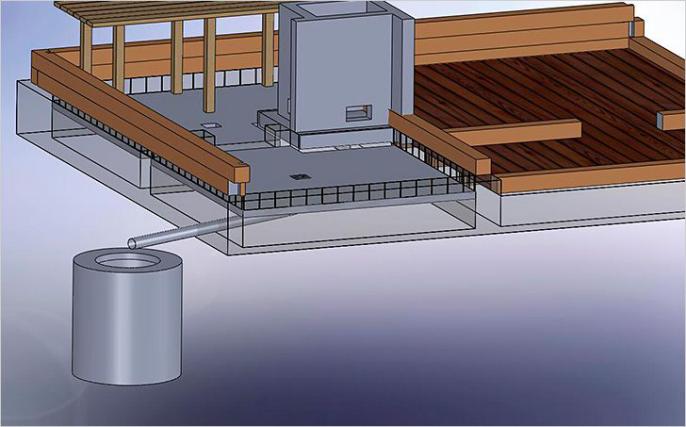 Один из наиболее оптимальных вариантов организации слива – вывод стока в сливной колодец. В отличие от слива воды в приямок, использование этого способа создает больше комфорта при использовании.