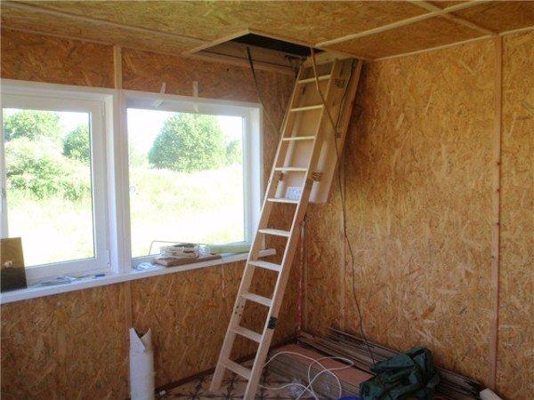 Строительство лестницы - не сложное дело