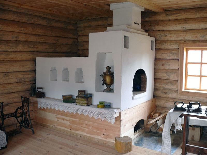 Традиционная русская печь в классическом исполнении