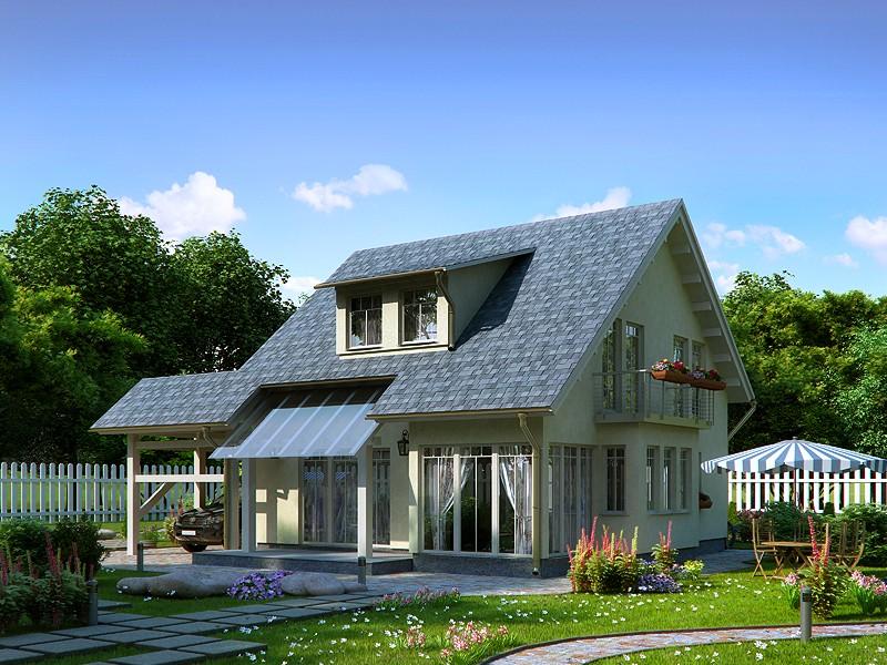 Одноэтажные дома строятся достаточно быстро
