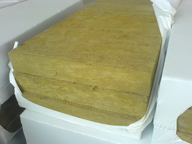 Базальтовая вата в виде плит