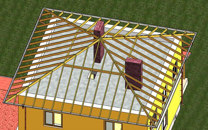 Крыша в виде шатра