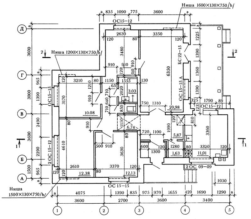 Рис №6: Детализированный план дома