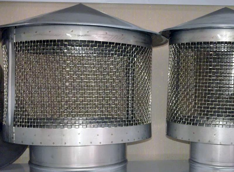 Искрогаситель для дымоходной трубы