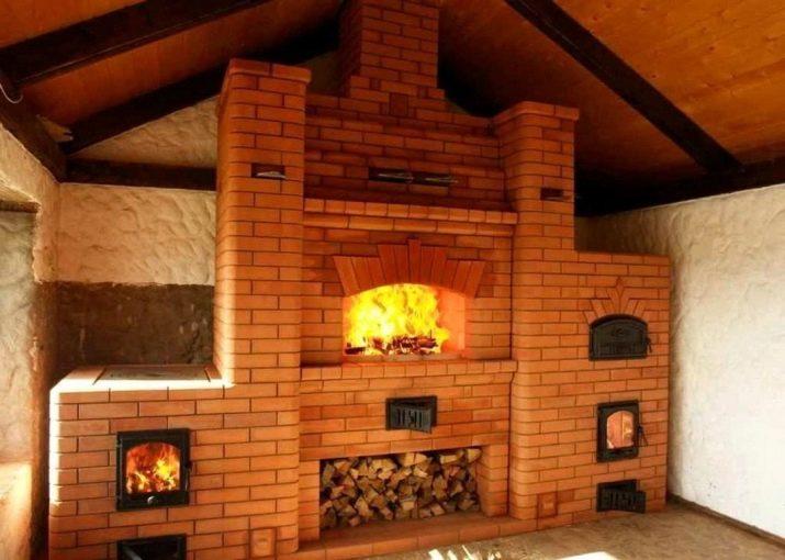 Рисунок 1 – Печь с камином и плитой
