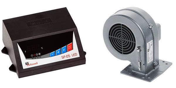 Вентилятор и блок управления
