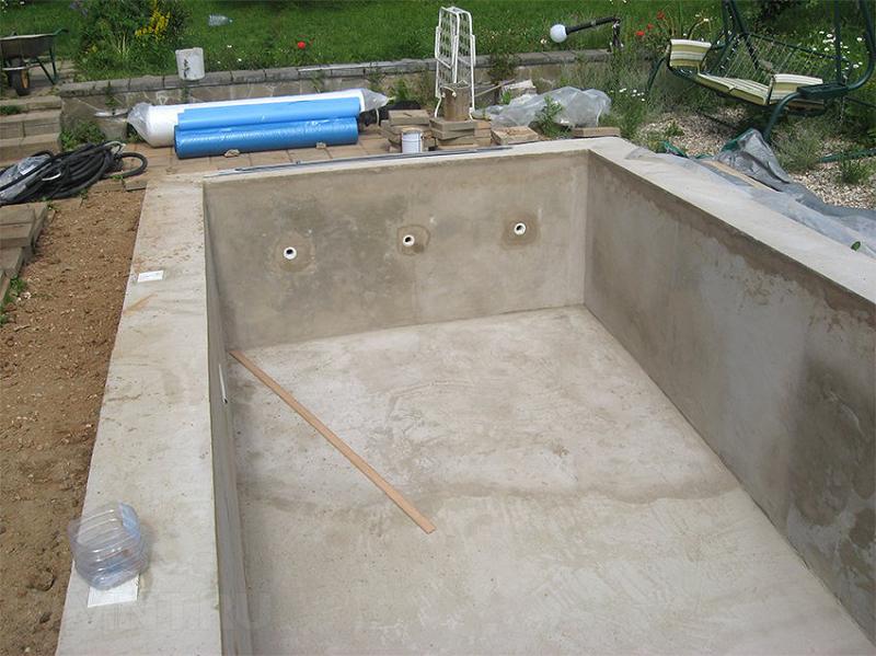 показатель водонепроницаемости обеспечивает использование бетона даже для бассейнов