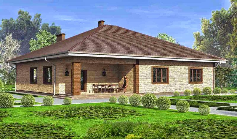 Уютный домик на 5 комнат с верандой