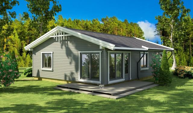 Каркасный дом на один этаж – быстро, доступно, долговечно