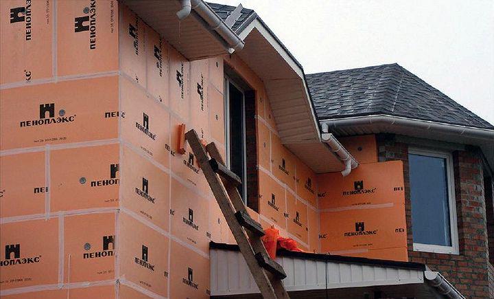 Наружное утепление стен объекта жилой недвижимости
