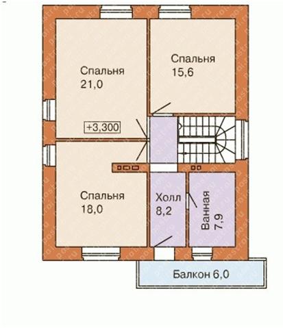 Планировка помещений в доме