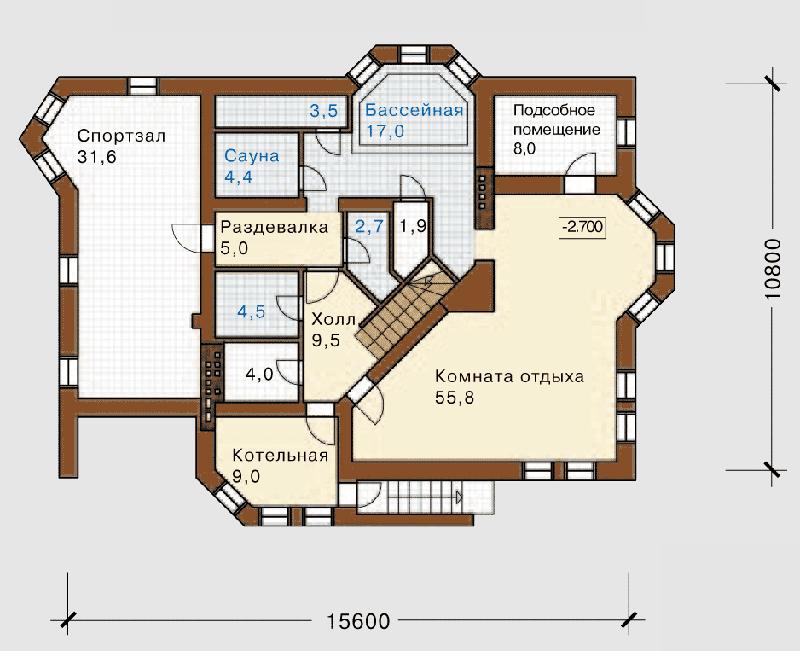 Многофункциональная планировка дома