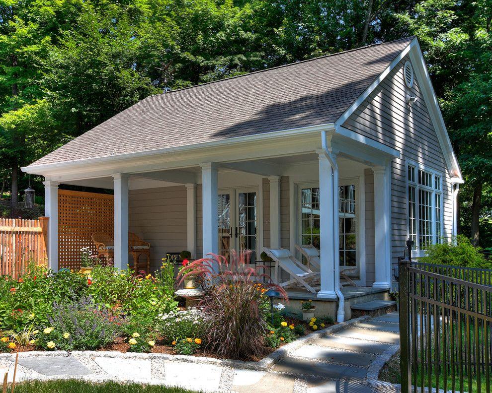 Одноэтажный дом с террасой – это идеальное решение для строительства дачи