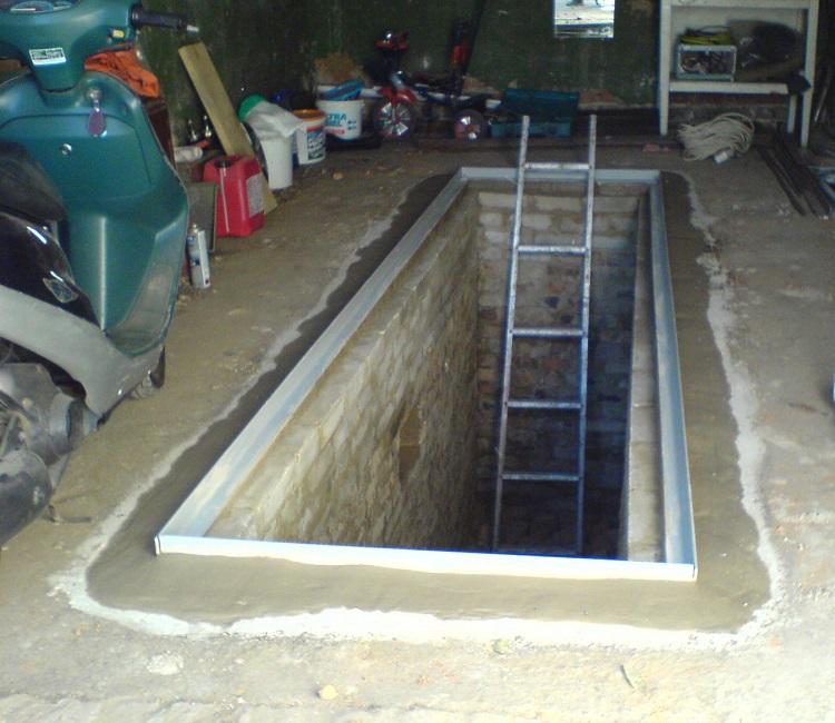 гаражная яма