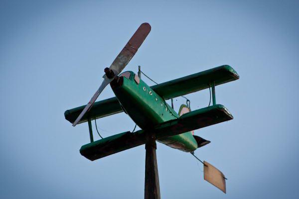 Вариант самодельного деревянного ветряка