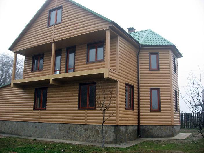 Облицовка старого дома металлосайдингом – современно и практично
