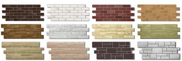 Вариации каменных панелей