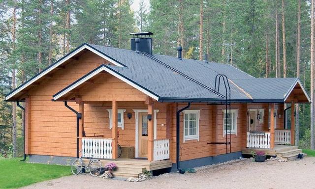 Одноэтажный дом из бруса – экологически безопасное жилье