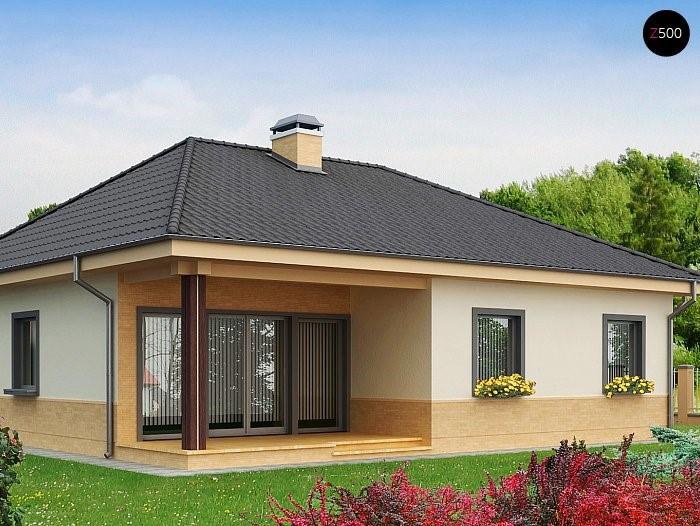Небольшой, но уютный одноэтажный дом