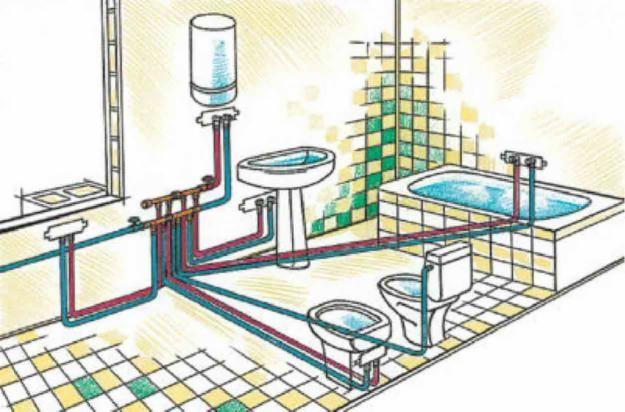 Проект канализационной системы и стояков в панельном доме