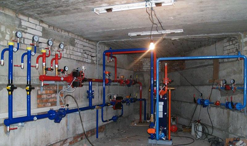 Оборудование для обеспечения отопления по независимой схеме