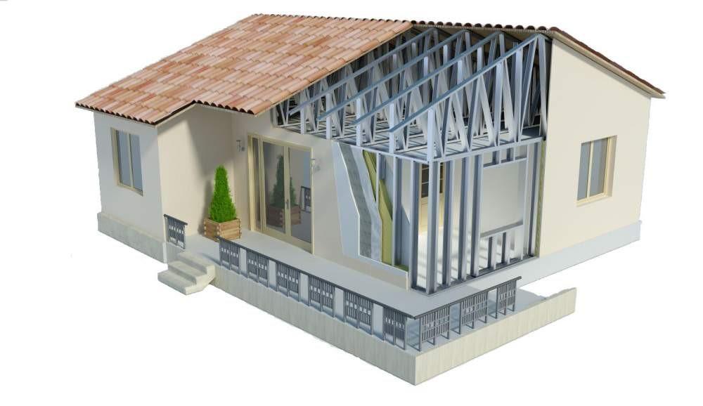 Быстровозводимый дом – практичное и современное решение