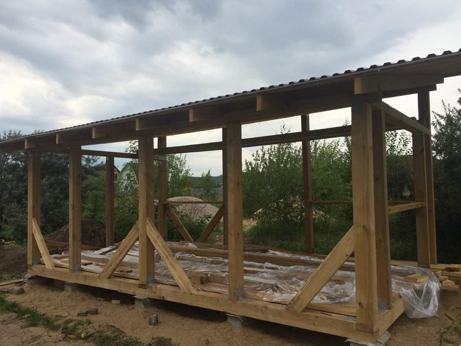 Завершающий этап строительных работ