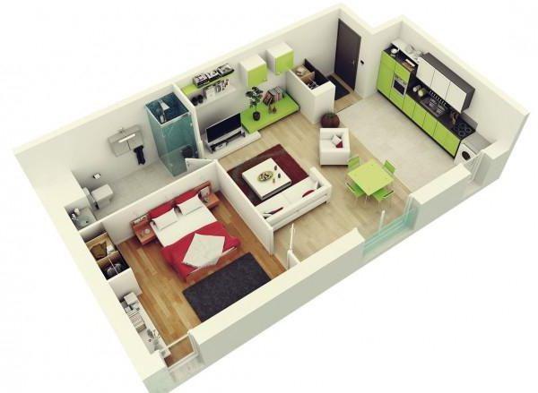 Для того, чтобы сделать жилье комфортным и уютным, не обязательно располагать большой площадью