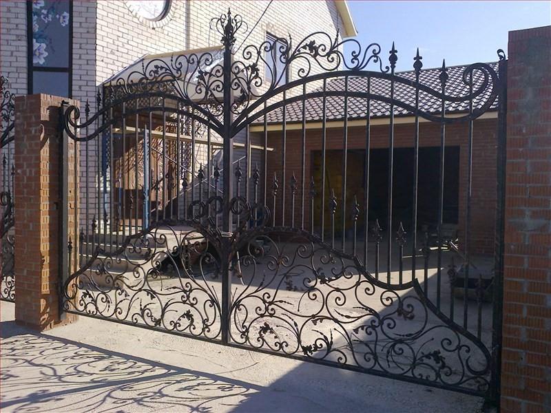 Вы можете своими руками создать красивые и прочные ворота