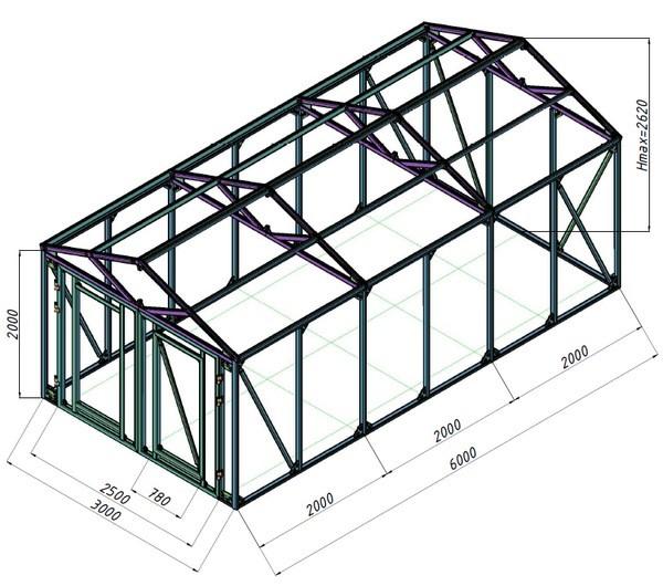 План конструкции