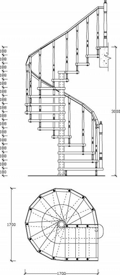 Прежде, чем приступать к выбору материала, необходимо составить чертеж конструкции