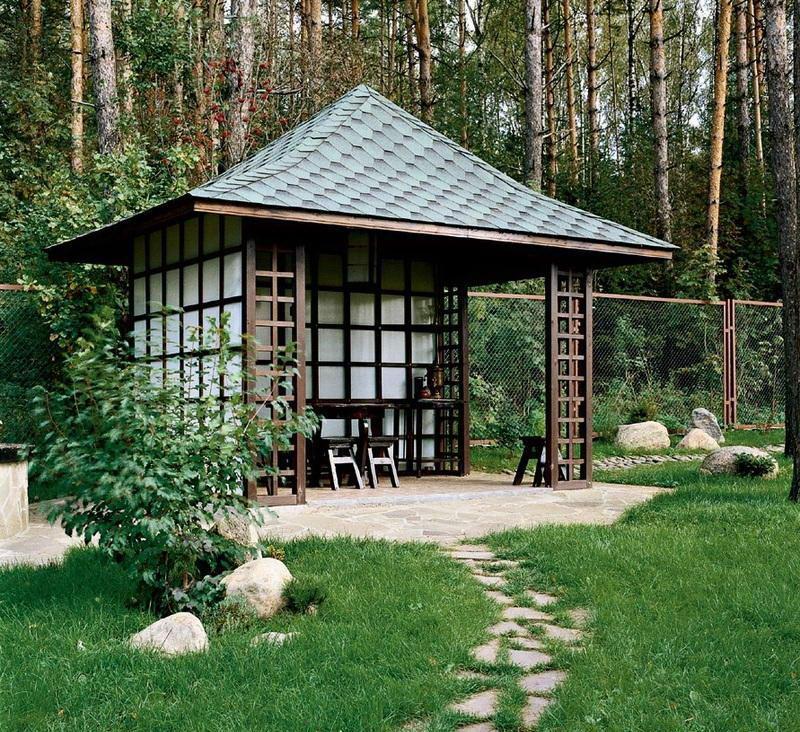 Вариант четырехскатной крыши 1
