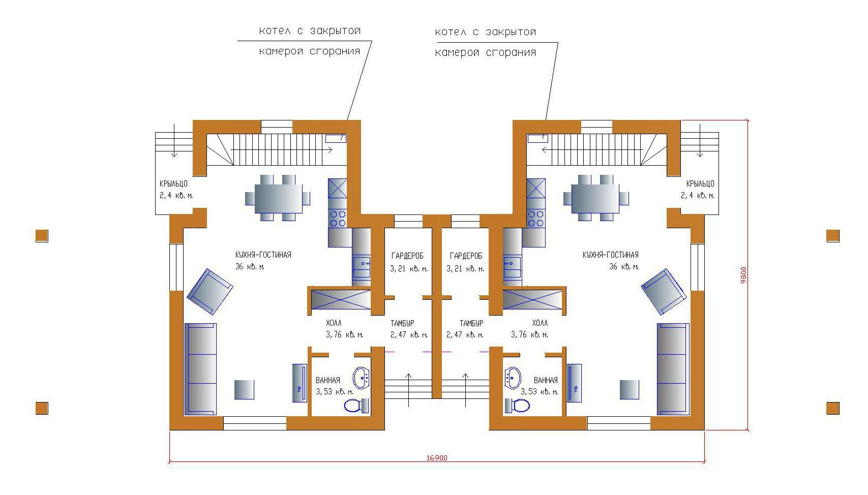 Проект уютного дома