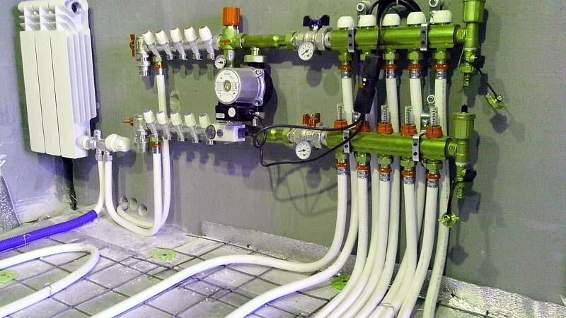 Коллекторная схема трубной разводки для квартиры