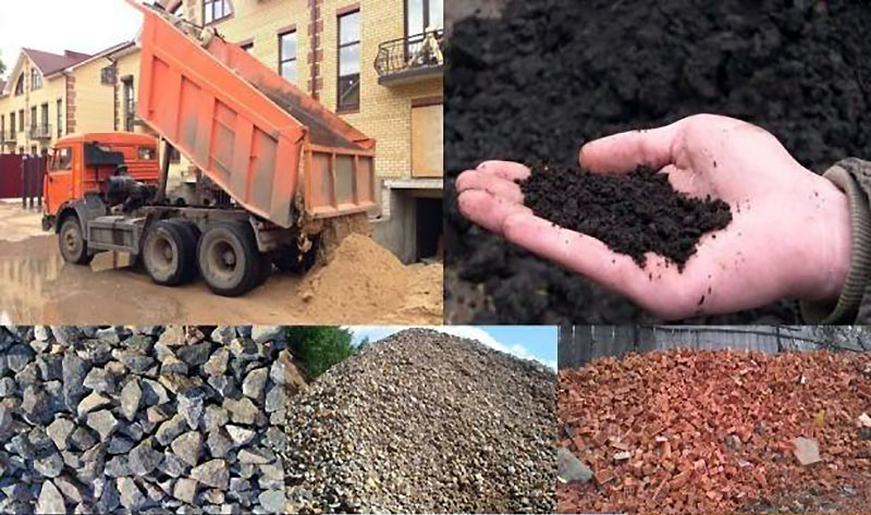 Промышленная очистка и доставка песка