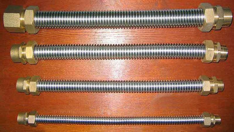 Гофрированные трубы из нержавеющей стали