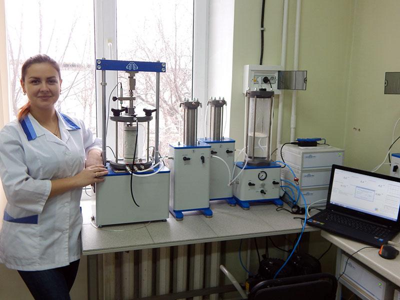 Аппарат для определения водопоглощения в лаборатории