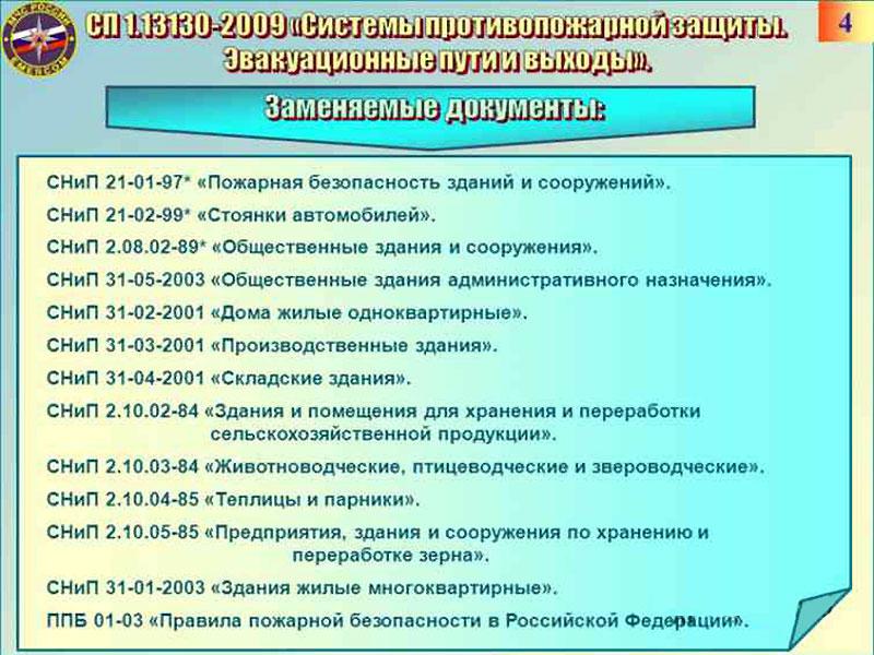 СНиП 2.01.02-85 и заменяемые нормативы